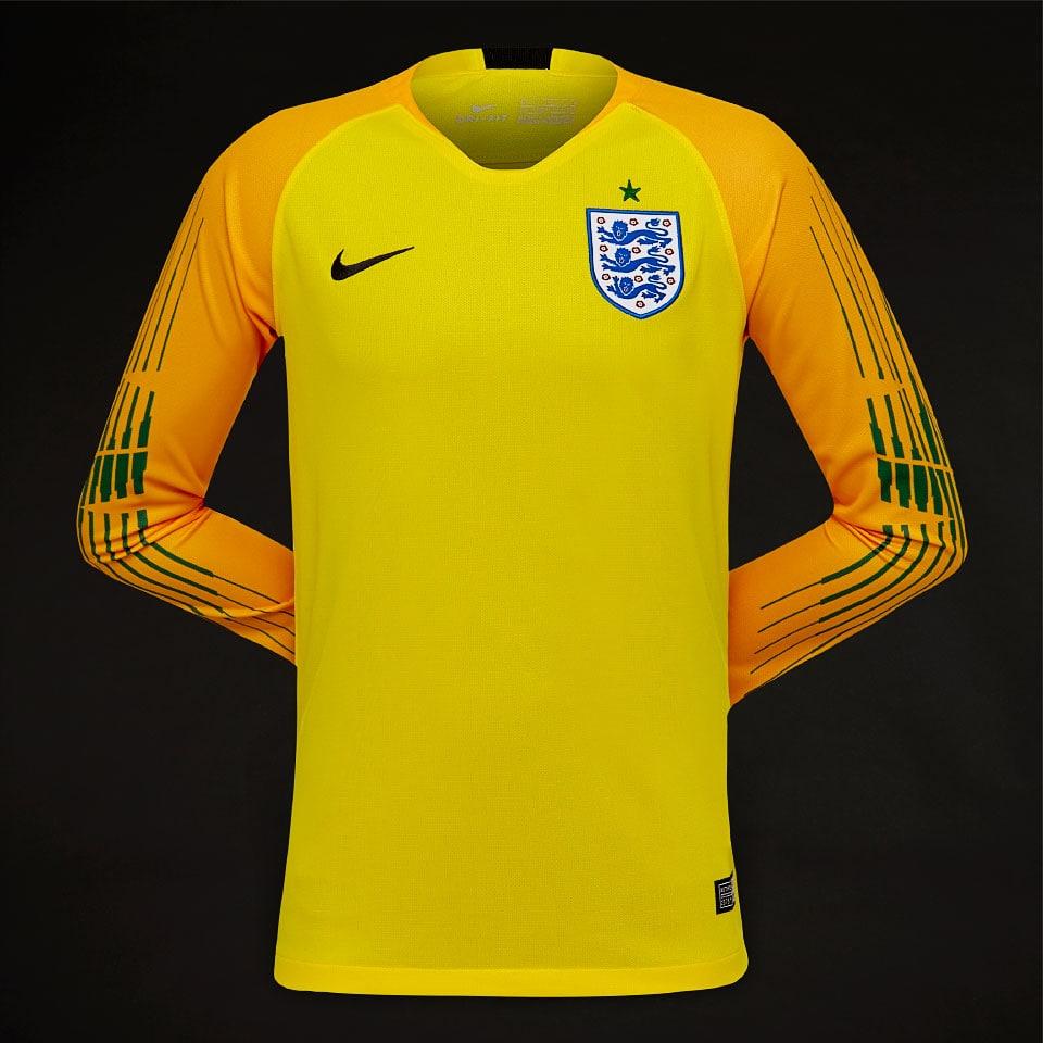4446e3b6e England's Goalkeeper Uniforms