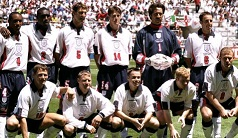 England Match No 747 Tunisia 15 June 1998 Match Summary And