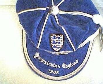 England's Caps
