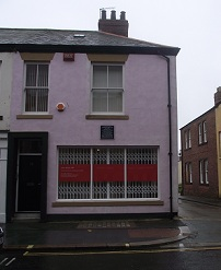 10 Norfolk Street in Sunderland, Alcock's birthplace