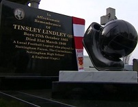 Tinsley Lindley's Grave