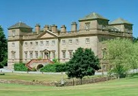 Hagley Hall, the family home of the Lyttelton's