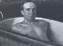 Howard Spencer's bath time