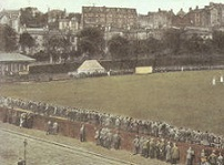 Cricket Match at West of Scotland Cricket Ground