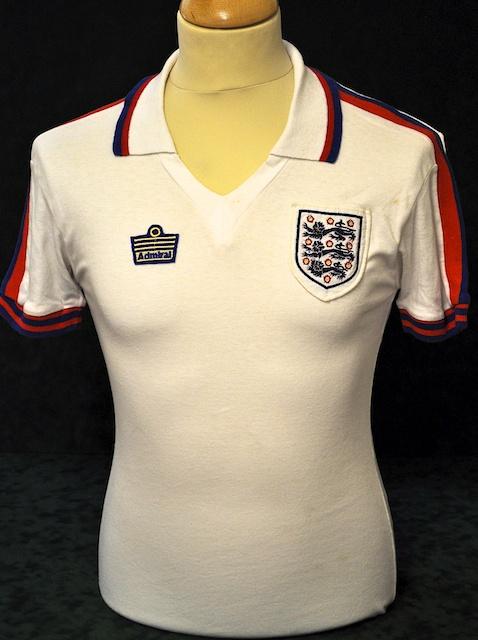 1b4d0948b England s Home Uniform 1974 to 1980