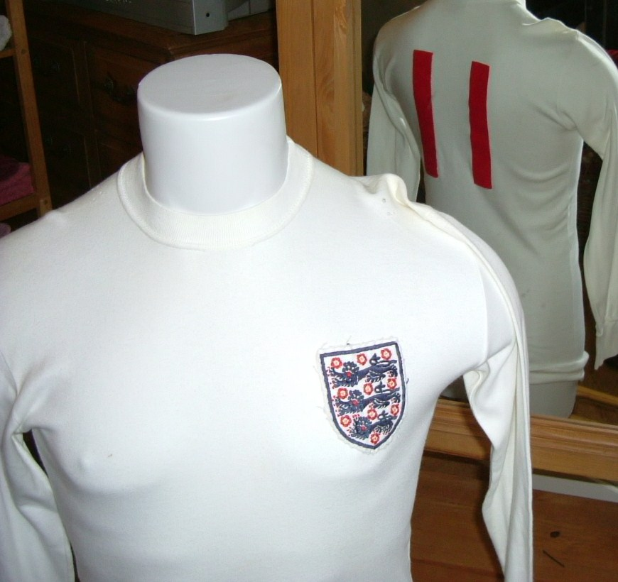 64c0053bf England's Home Uniform 1965 to 1974