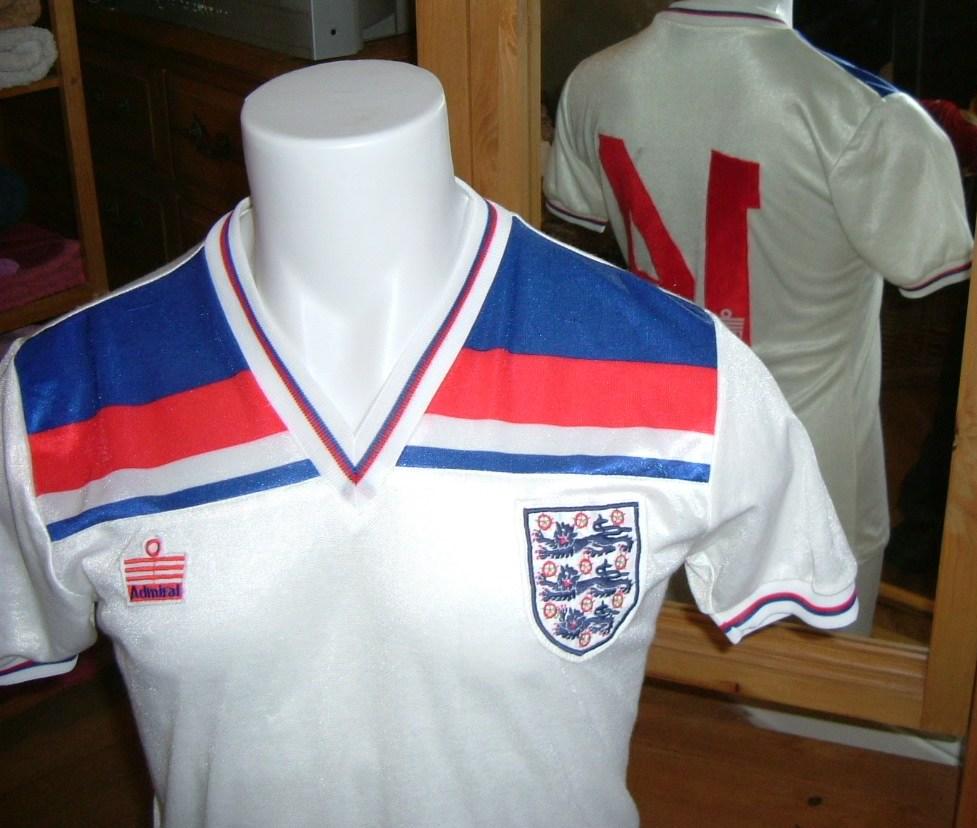 1cedcf862 England s Home Uniform 1980 to 1983